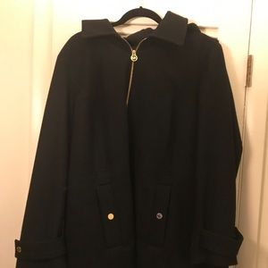 Michael kors 2x black peacoat